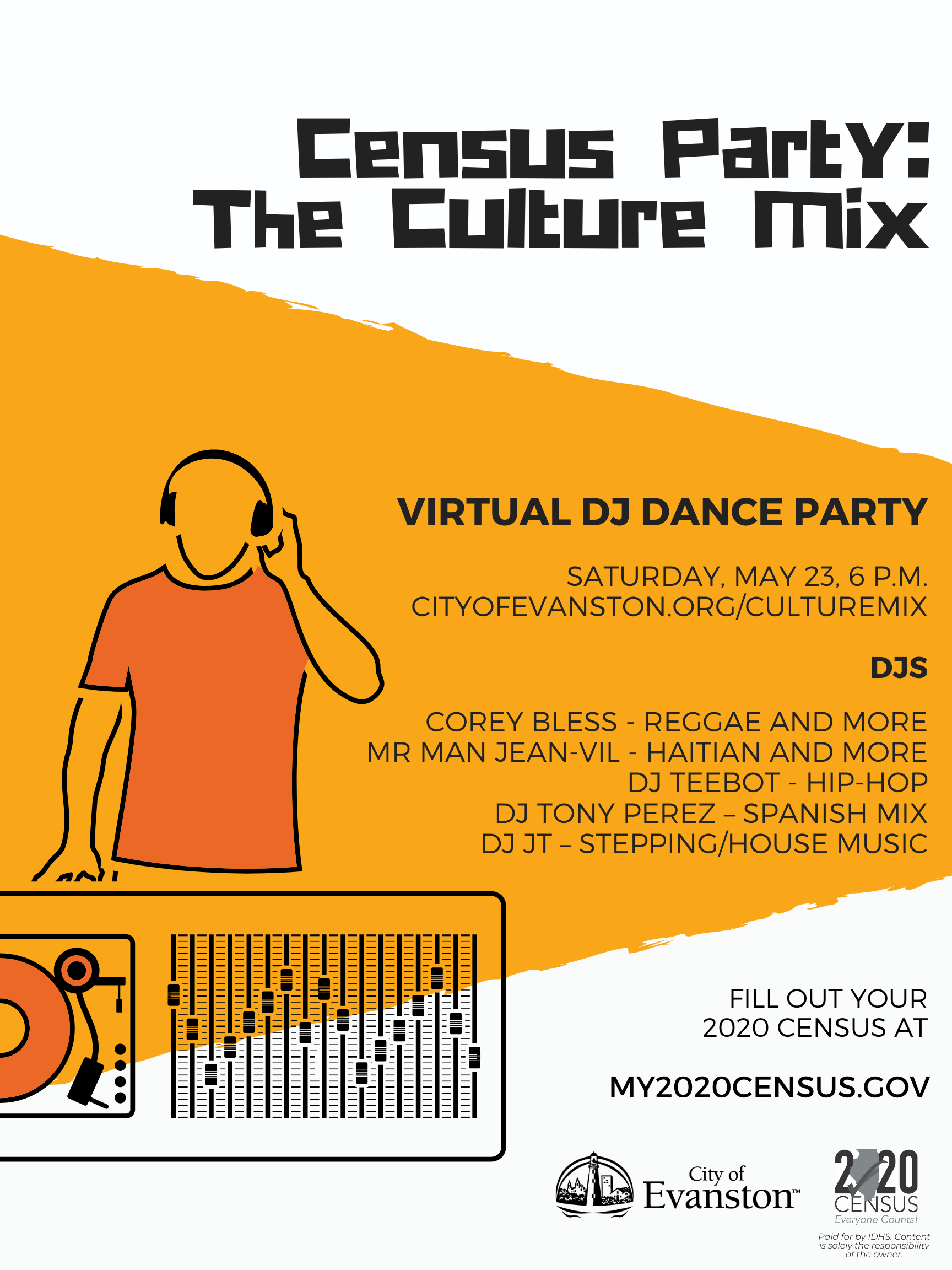 Census Party - The Culture Mix