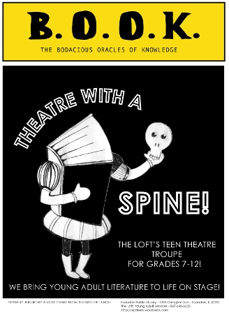 book theatre with a spine