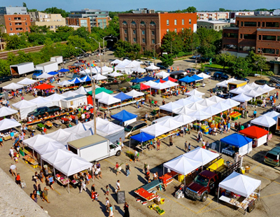 Downtown Farmers' Market Opens May 6