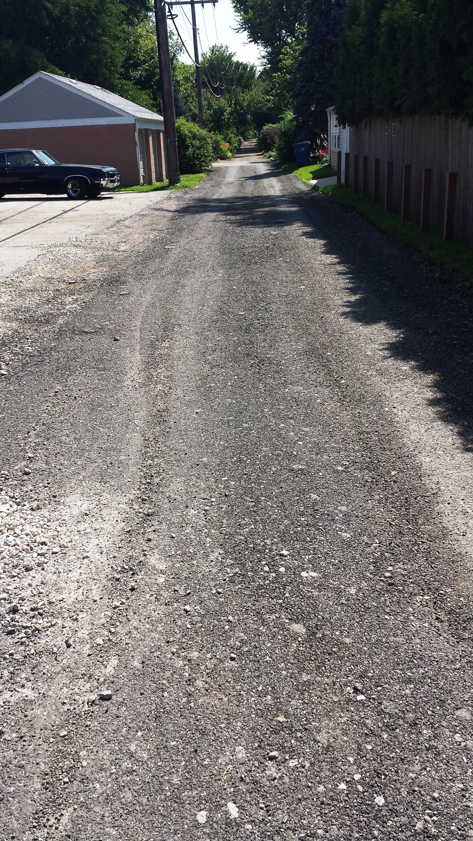Alley Unpaved