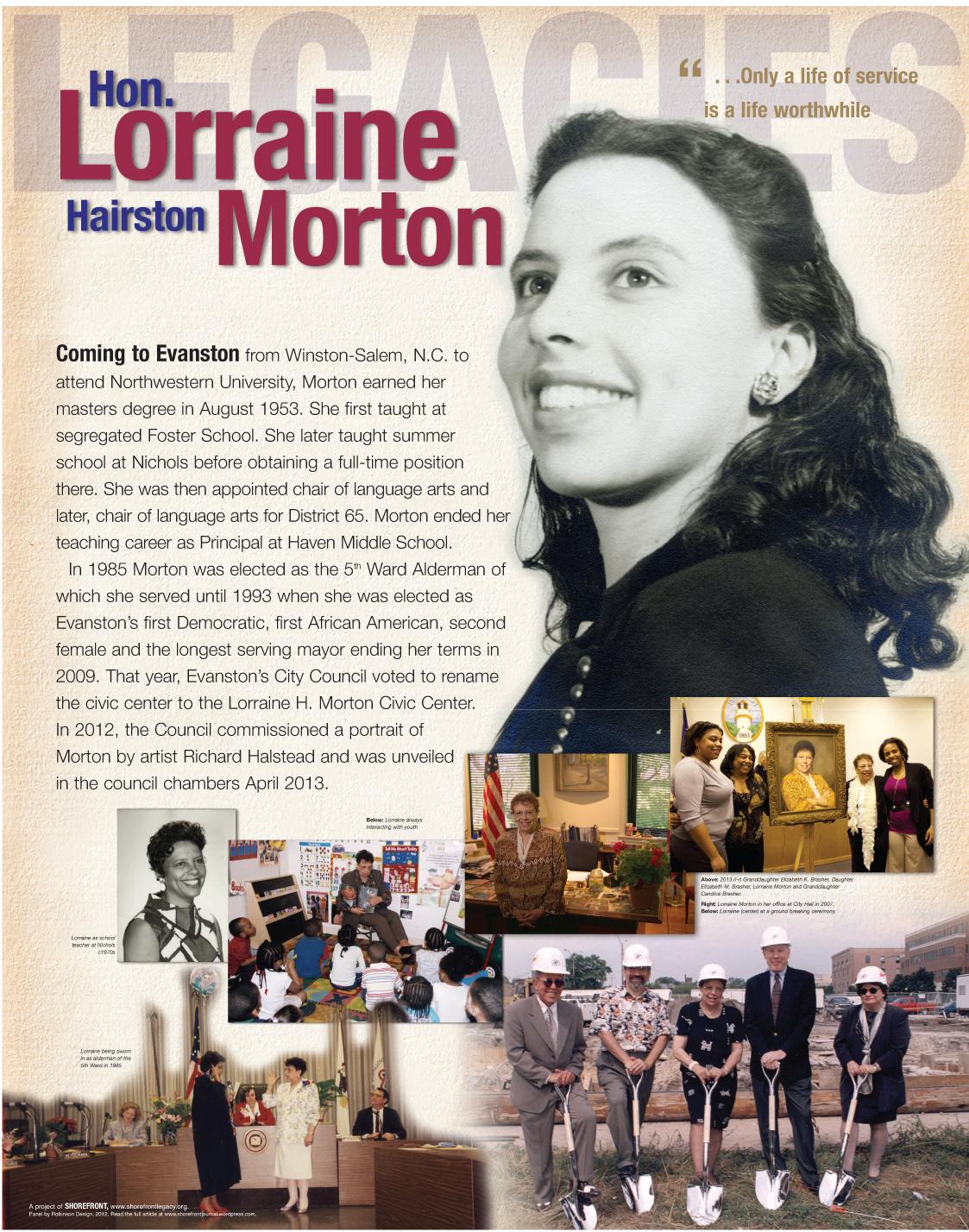 Legacies exhibit-Morton