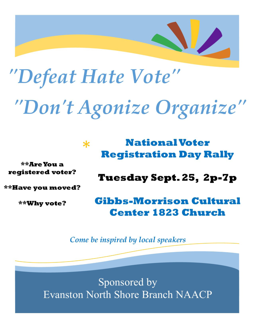 NAACP voters rally