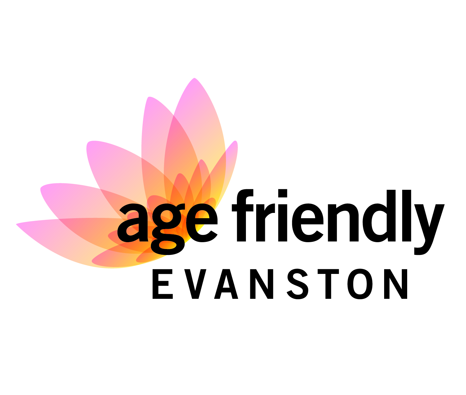 Age-Friendly Evanston logo