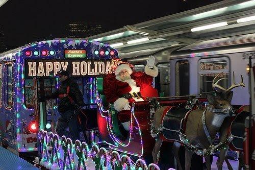 Ctaholidaytrain The Allstate Cta Holiday Train Will Visit Evanston On
