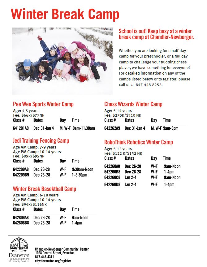 All winter camp