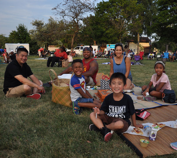 Enjoy Starlight Movies in the Park!