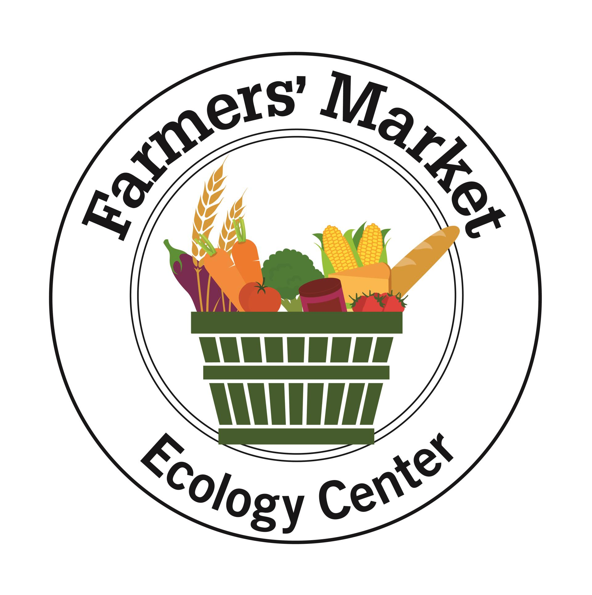 EcologyCenter_Farmers Market logo_2015_BW